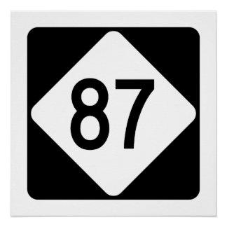 North Carolina Highway 87 Poster