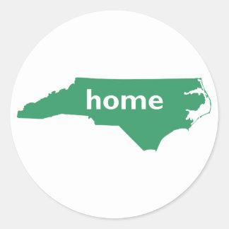 North Carolina Home Classic Round Sticker