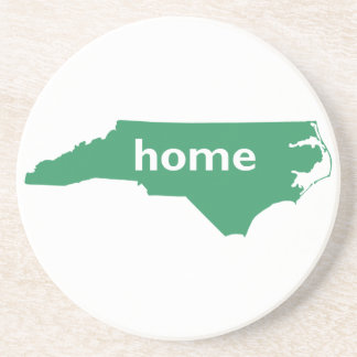 North Carolina Home Drink Coaster