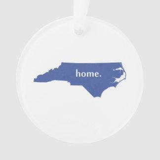 North Carolina home silhouette state map Ornament