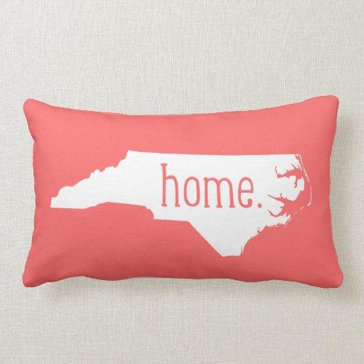 Throw Pillow That Says Home : North Carolina Home State Throw Pillow Zazzle