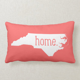 North Carolina Home State Throw Pillow