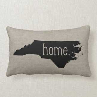 North Carolina Home State Throw Pillow