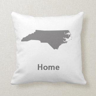 North Carolina Home Throw Pillow