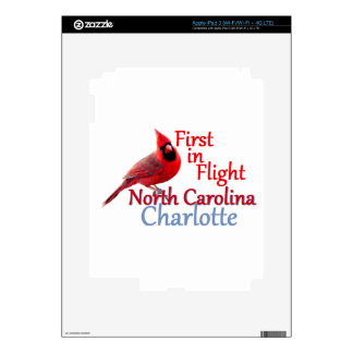 NORTH CAROLINA iPad 3 DECALS