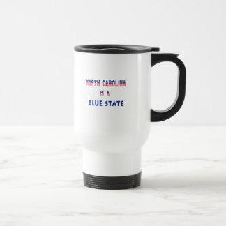 North Carolina is a Blue State Travel Mug