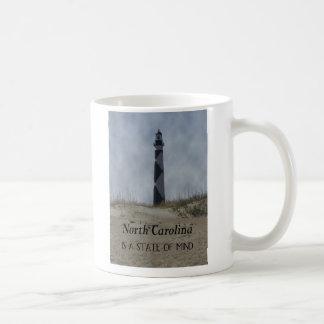 North Carolina is a state of mind Classic White Coffee Mug