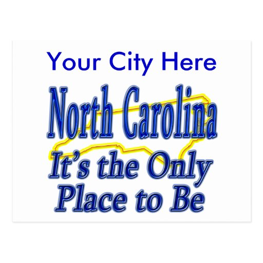 North Carolina  It's the Only Place to Be Post Cards