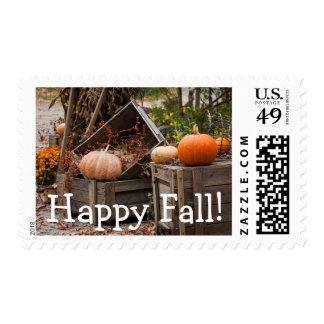 North Carolina, Linville, autumn pumpkins Postage