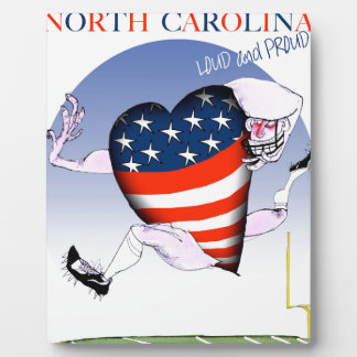north carolina loud and proud, tony fernandes plaque