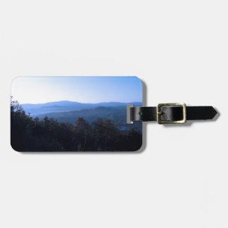 North Carolina Mountains Travel Bag Tag