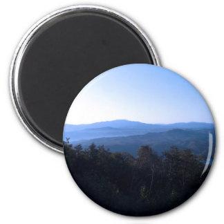 North Carolina Mountains Fridge Magnet
