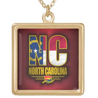 North Carolina (NC) Gold Plated Necklace