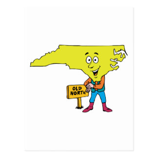 North Carolina NC Vintage Travel Souvenir Postcard