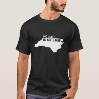 NORTH CAROLINA NO HATE IN MY STATE - white - T-Shirt