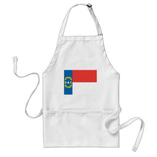 North Carolina Official State Flag Adult Apron