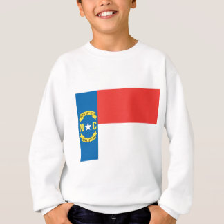 North Carolina Official State Flag Sweatshirt