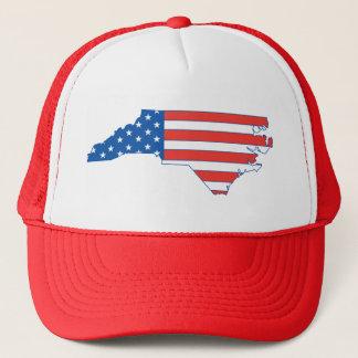 North Carolina Patriotic Hat