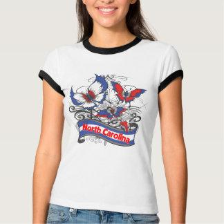North Carolina Patriotism Butterfly Shirt