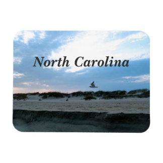 North Carolina Rectangle Magnets