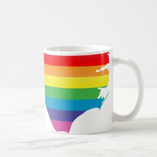 north carolina pride. coffee mug