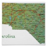 North Carolina Print