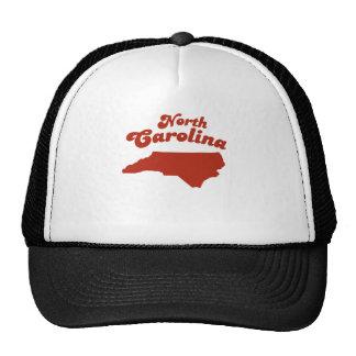 NORTH CAROLINA Red State Trucker Hat