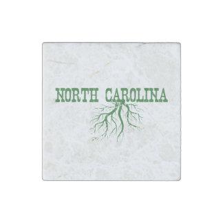 North Carolina Roots Stone Magnet