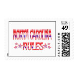 North Carolina Rules Postage Stamps