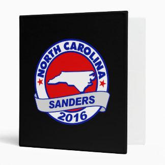 north carolina Sanders 2016.png Vinyl Binders