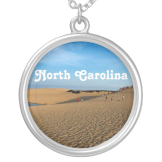 North Carolina Shore Personalized Necklace