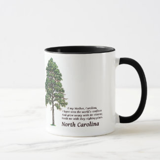 North Carolina Sighing Pines Mug
