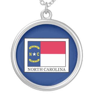 North Carolina Silver Plated Necklace