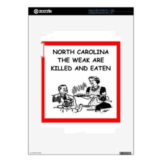 north carolina decal for the iPad 2