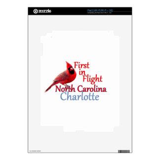 NORTH CAROLINA DECALS FOR iPad 2