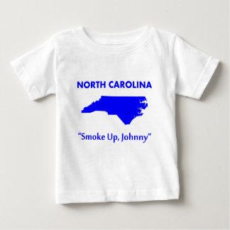 North Carolina - Smoke Up, Johnny! Baby T-Shirt