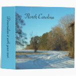 North Carolina - Snowy Path Binder