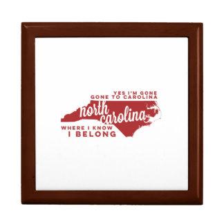 north carolina | song lyrics | crimson gift box