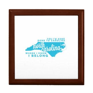 north carolina | song lyrics | sky blue gift box