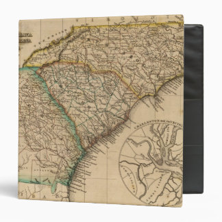 North Carolina, South Carolina, Georgia 3 Ring Binder