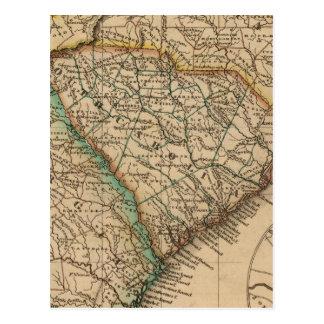 North Carolina, South Carolina, Georgia Postcard