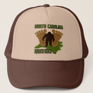 North Carolina Squatch Watch Trucker Hat
