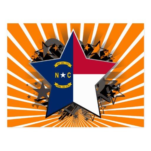 North Carolina Star Postcard