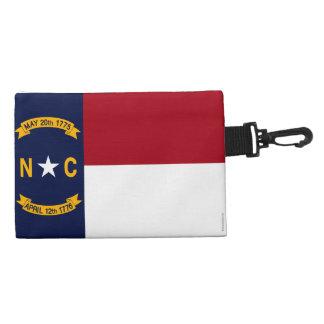 North Carolina State Flag Accessory Bags