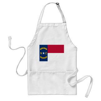 North Carolina State Flag Adult Apron