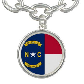 North Carolina State Flag Bracelets