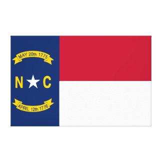 North Carolina State Flag Canvas Print