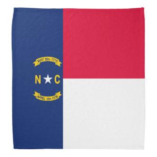 North Carolina State Flag Design Decor Bandana