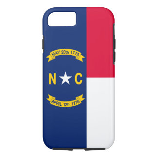 North Carolina State Flag Design Decor iPhone 7 Case