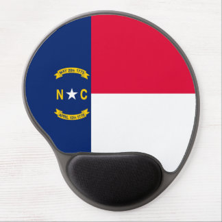 North Carolina State Flag Design Gel Mouse Pad